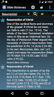 Screenshot of The Bible Dictionary®