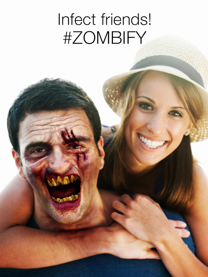 Zombify - Zombie Photo Booth – zrzut ekranu
