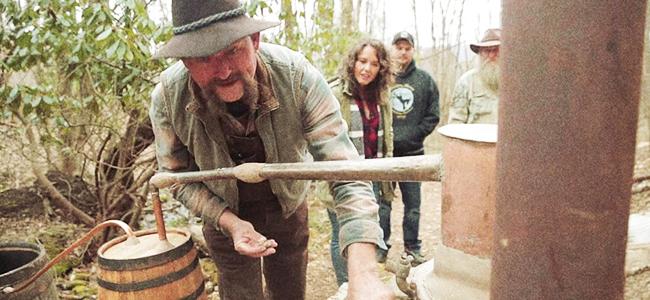 Howling Moon Distillery's 100-Year-Old Family Still