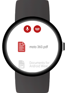 Documents for Android Wear screenshot 0
