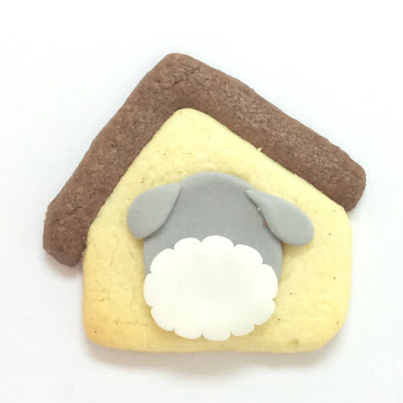 SCHNAUZER HOUSE POP COOKIE