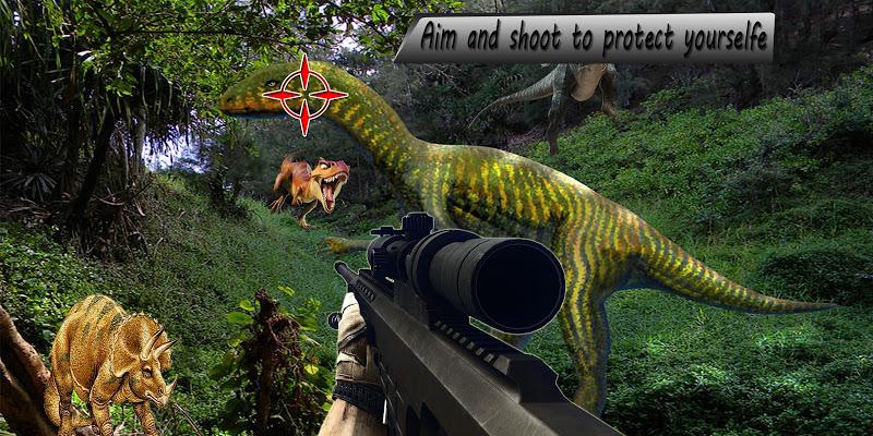 Скриншот Dino Fps Hunter 2016