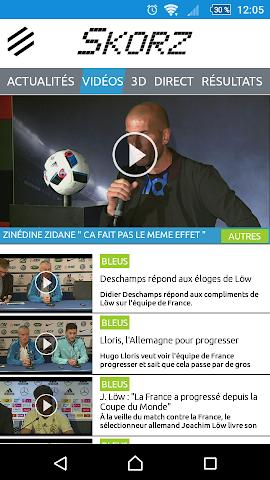 android Résultats sportifs en live Screenshot 2