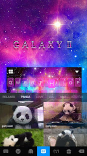 Galaxy2 Starry Keyboard Themes 4