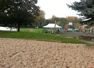 Photo: Concours cynophile à Arronville.