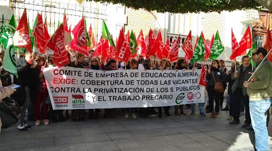 Almería sí se echa a la calle: 502 manifestaciones en un año