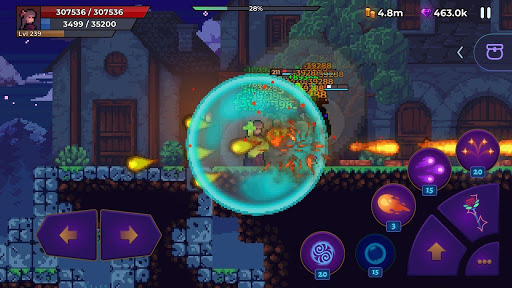 Moonrise Arena - Pixel Action RPG apkmr screenshots 1