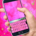 Color Keyboard Pink icon