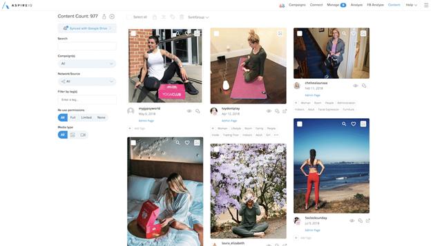 aspireiq influencer marketing platforms