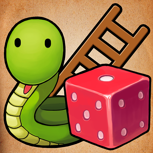 Snakes & Ladders King Icon
