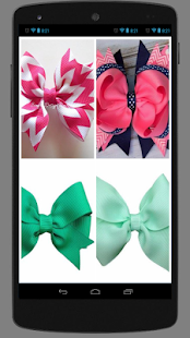 Hair Bow Designs For Girls - náhled