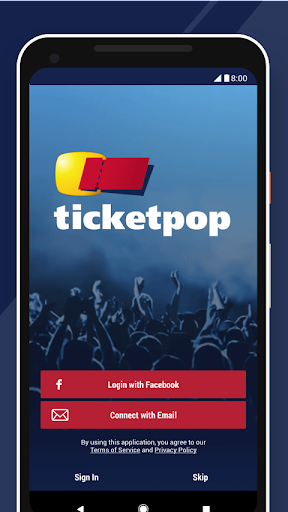 Ticketpop Screenshot