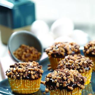 Coffee Toffee Heath Cupcakes