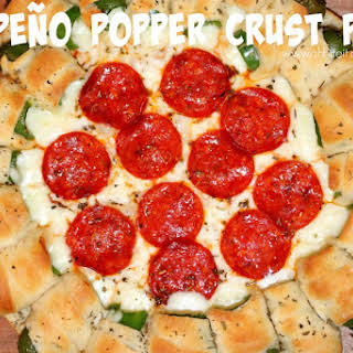 ~Jalapeno Popper Crust Pizza!.