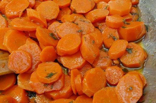 Honey-mint Carrots Recipe