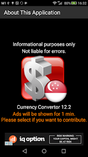 Singapore Currency Converter - náhled