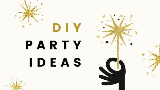 DIY Party Ideas - YouTube Thumbnail Template
