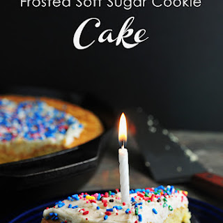 Frosted Soft Sugar Cookie.