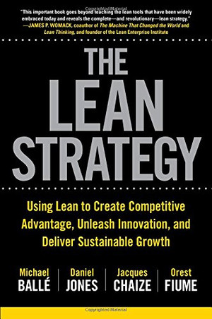 "Dédicace du livre ""The Lean Strategy"" par Jacques Chaize"