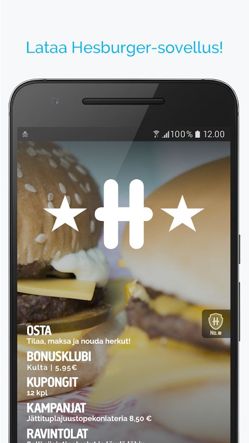 Hesburger- screenshot
