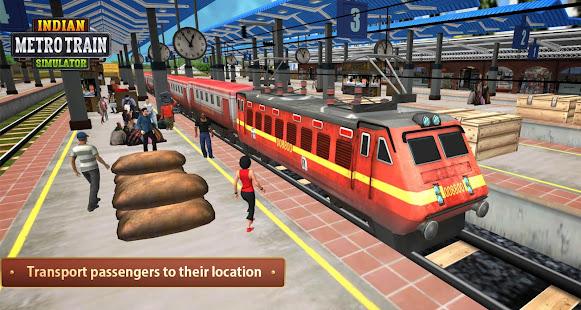 Indian Metro Train Simulator 2