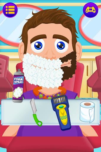 Beard Salon Shave Game