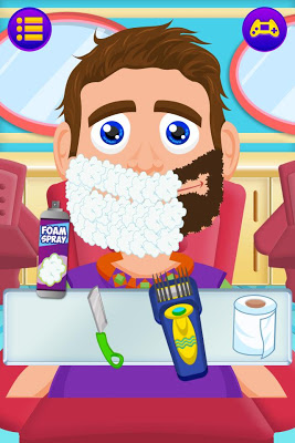 Beard Salon Shave Game - screenshot