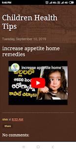 Children Health Tips - náhled