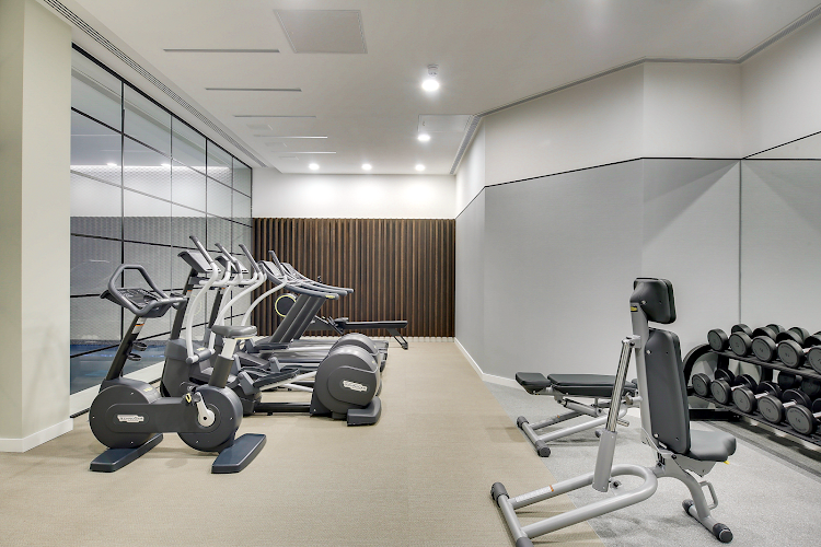 Gym at Emerson Court Apartments, Angel