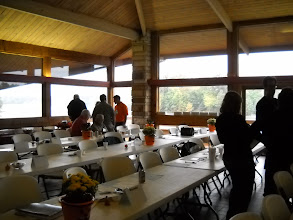 Photo: Welcome Reception in the Candlewood Lake Clubhouse.