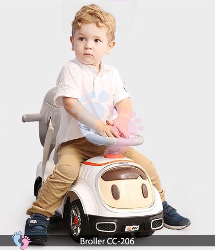 Xe chòi chân trẻ em Broller CC 206 5