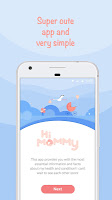 screenshot of HiMommy - Pregnancy Tracker App