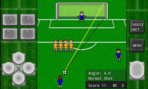 Gachinko Football: Free Kick apkpoly screenshots 1