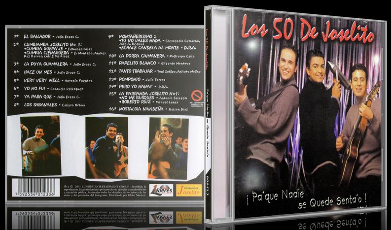 Los 50 De Joselito - Pa' Que Nadie Se Quede Senta'o (2001) [MP3 @320 Kbps]