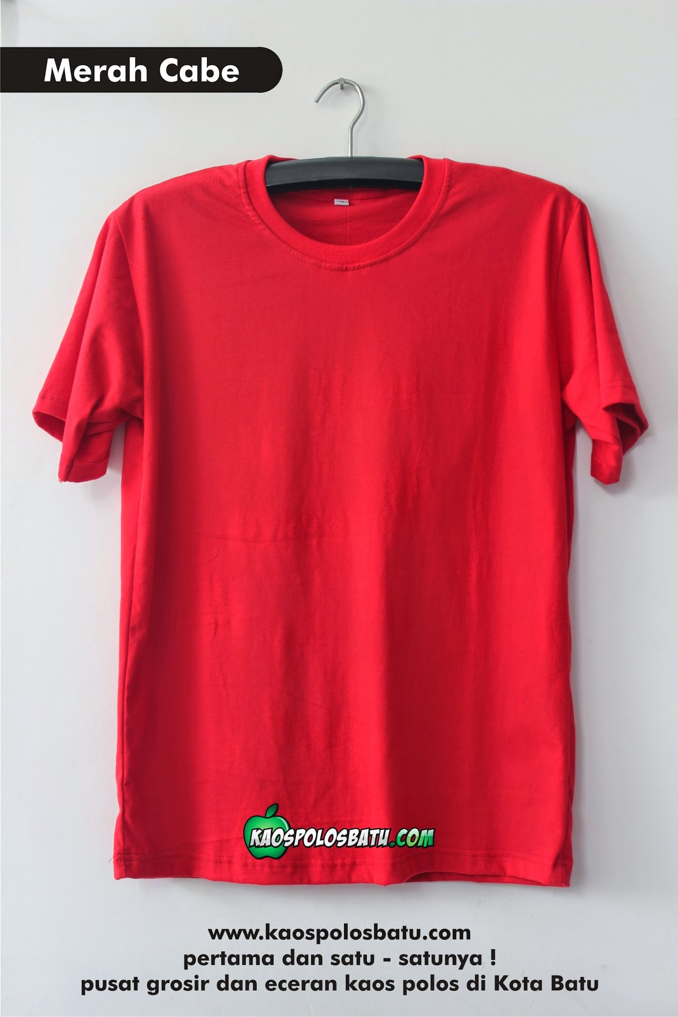 Album Google Kaos Polos Red Misty Photo Batu Merah Cabe