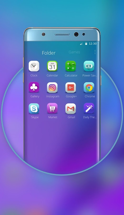 Launcher for Galaxy Note8- screenshot