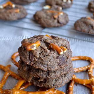 Chocolate Pretzel Cookies 36 cookies