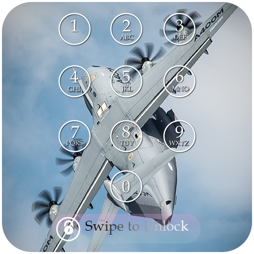 Military Keypad Lock Screen