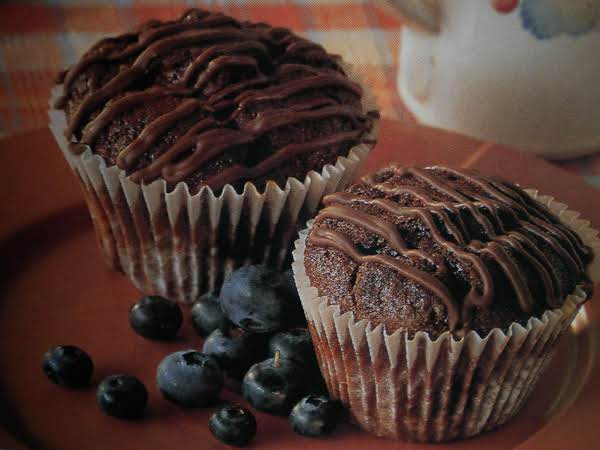 Chocolate Blueberry Muffins Recipe