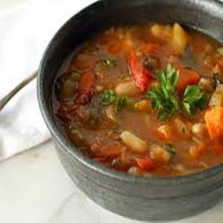 Vegetable Beef Soup.