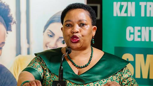 Nomusa Dube-Ncube, MEC for finance in KwaZulu-Natal.