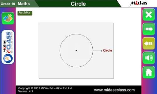 MiDas eCLASS Maths 10  Demo screenshot 3