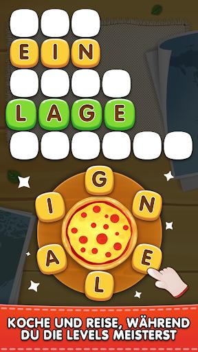 Wörter Pizza : Offline Wortspiel Deutsch kostenlos  screenshots 2