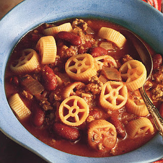 Wagon Wheel Beef Soup