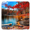 Autumn Watercolor LWP icon