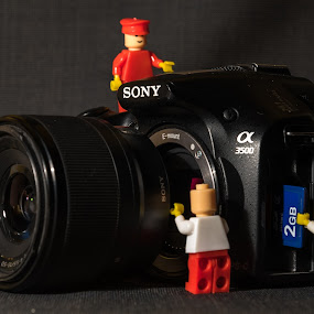 Primary colours by Ketan Kunte - Artistic Objects Toys ( red, toy, blue, sony alpha, camera, toys, yellow, lego,  )