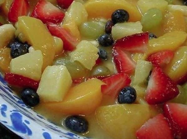Dreamy Creamy Fruit Salad! Recipe