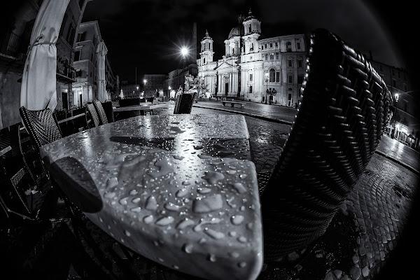 Roma ....la notte, la pioggia , fantastica di MaxMax