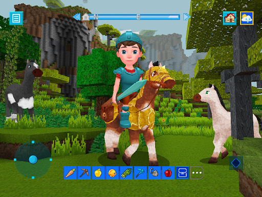 Terra Craft: Build Your Dream Block World modavailable screenshots 9