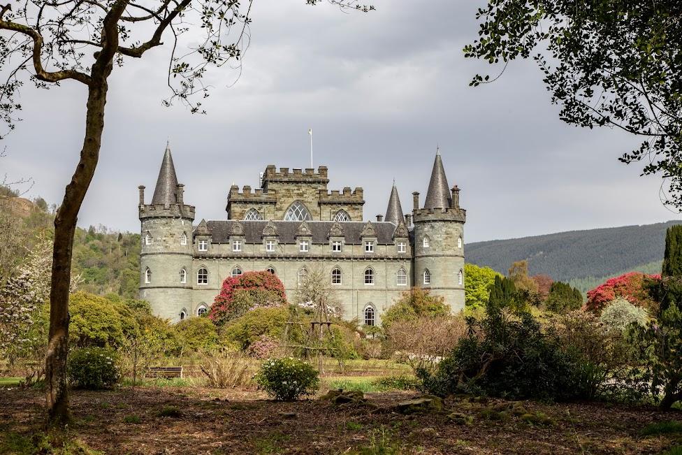 szkockie zamki, Inveraray Castle, Szkocja